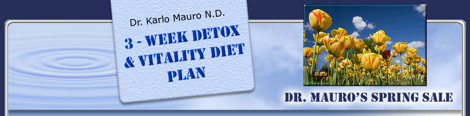 3 Week Detox and Vitality Diet by Naturopathic Doctor ...
